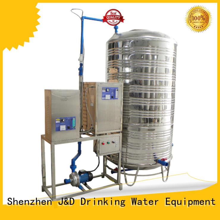 J&D WATER Homegenizer machine