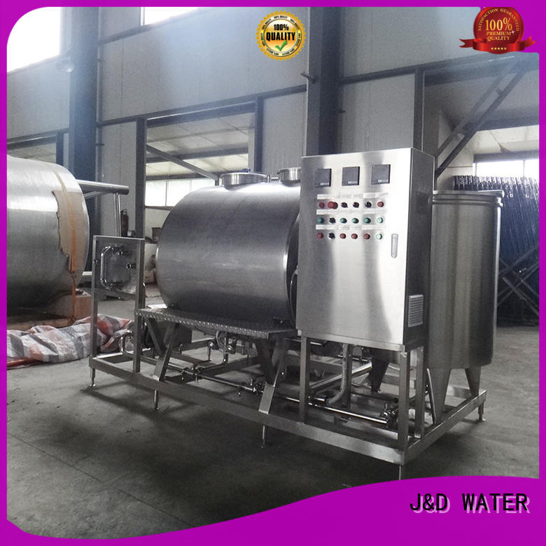J&D WATER fast installation Suger-Melting Pot best price for customization