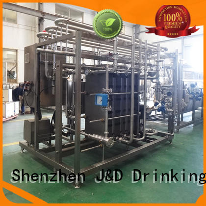 J&D WATER melt water treatment systems