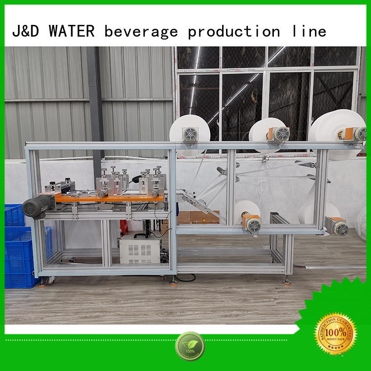 J&D WATER intelligent automatic mask machine factory price high quality