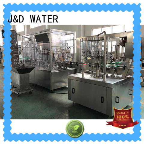 J&D WATER easy operation water packing machine good quality for sauce