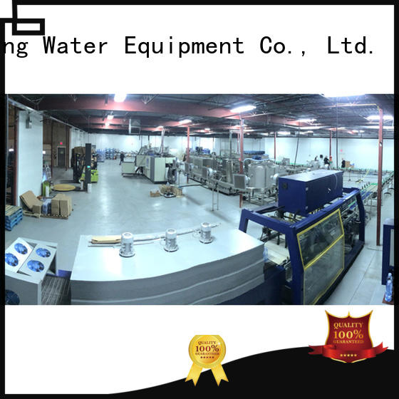 J&D WATER water production line stainless steel for mineral water
