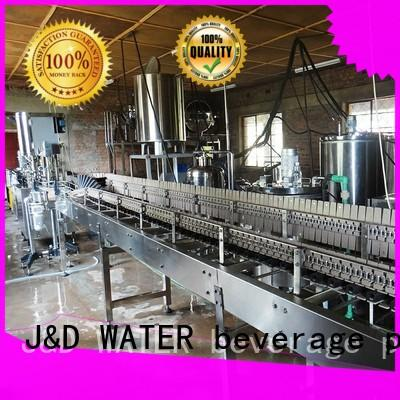 J&D WATER water bottle packing machine good quality for pure water