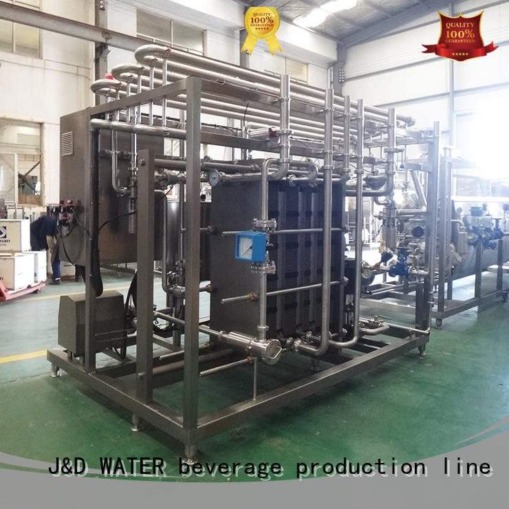 J&D WATER easy operation UV Sterilization System favorable quality for customization