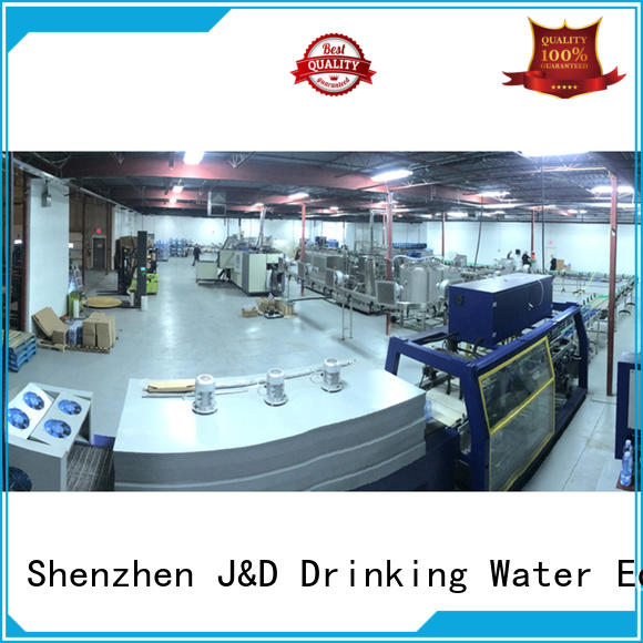 J&D WATER energy saving water production line good quality for pure water