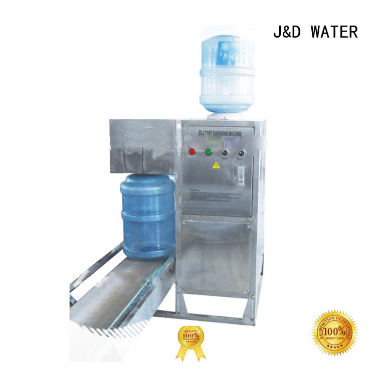 J&D WATER advanced technology industrial bottling machine complete function for pure water