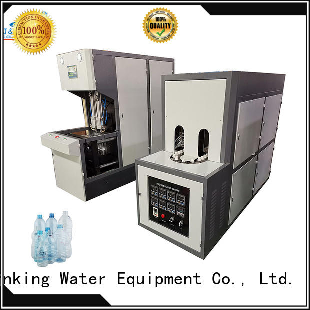 J&D WATER automatic blow moulding machine effortlessly for hot fill containers