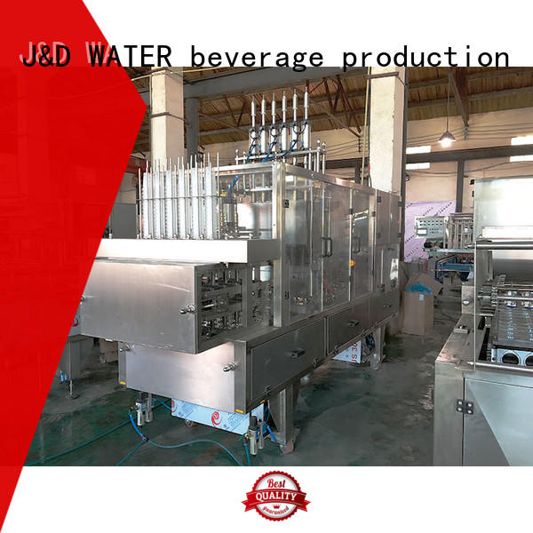 J&D WATER cup filling machine high automation for beverage
