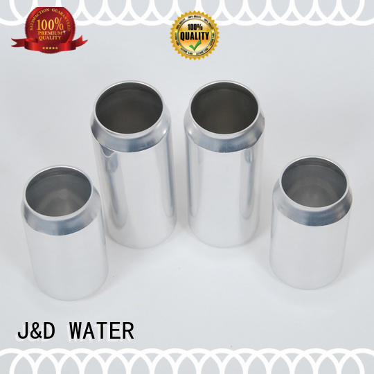 J&D WATER high quality plastic can free sample for water packing