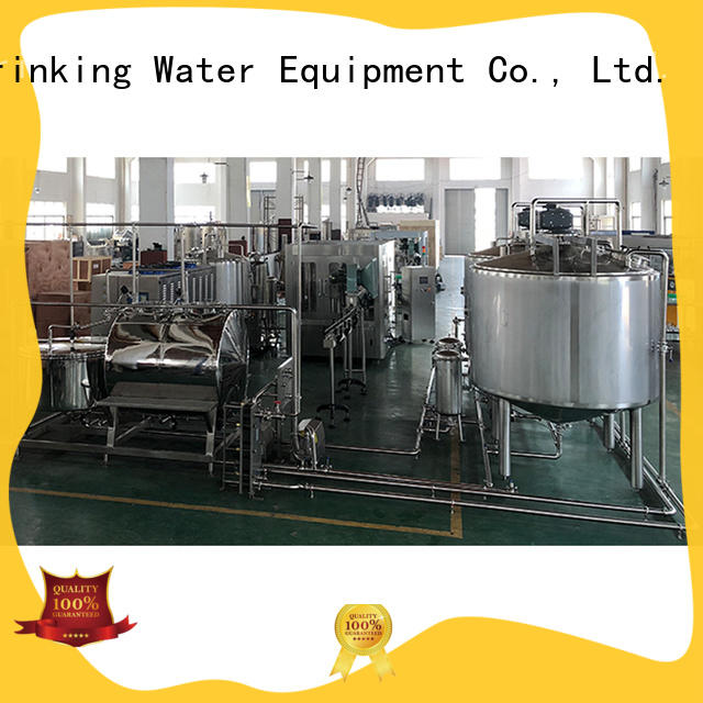 bottled bottled water production machines beverage for pure water J&D WATER