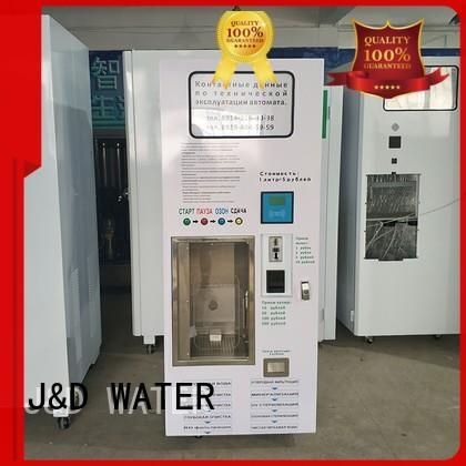 J&D WATER unique vending machines hot sale