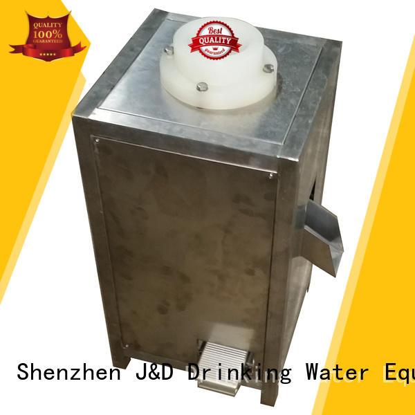 J&D WATER bottle industrial bottling machine good quality for Glass bottles