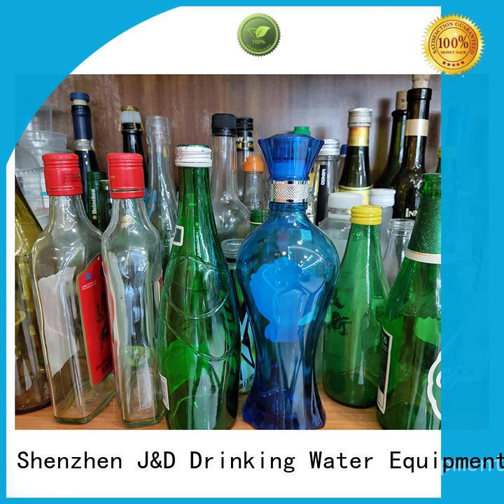 J&D WATER durable bottles wholesale top brand for liquid storage