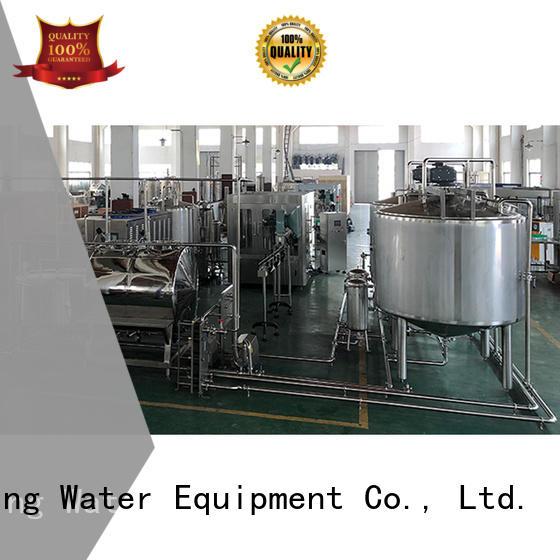 bottled water production line bottled for juice J&D WATER