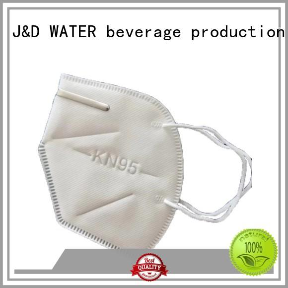 J&D WATER wholesale price n95 filter mask high quality anti virus