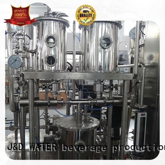 J&D WATER top-selling drinking Pasteurization System best price oem&odm
