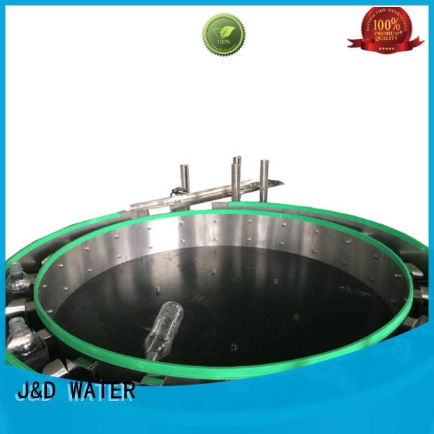 J&D WATER larger capacity volumetric filling machine high automation for vinegar