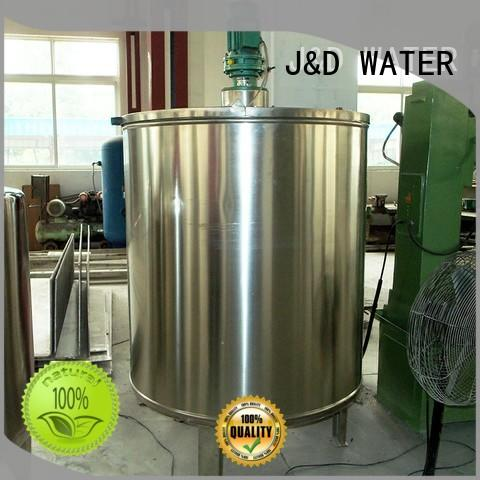 J&D WATER fast installation Suger-Melting Pot best price oem&odm