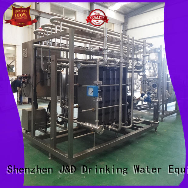 J&D WATER drinking Pasteurization System competitive price for sale
