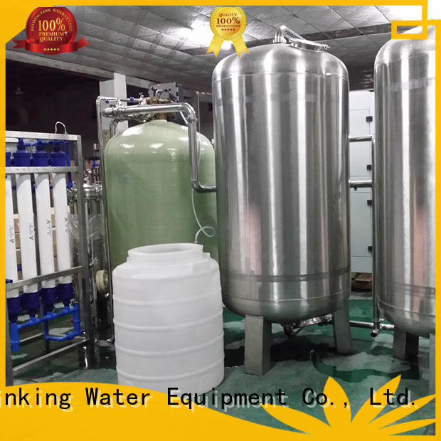 J&D WATER reverse osmosis machine with Glass Tank for drinking water for treatment