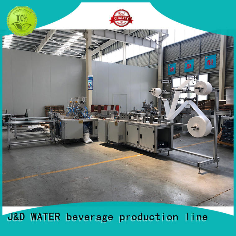 J&D WATER hot-sale face mask making machine factory direct supply for mask making