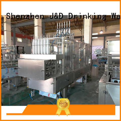 J&D WATER cup sealing machine complete function for hot infusion
