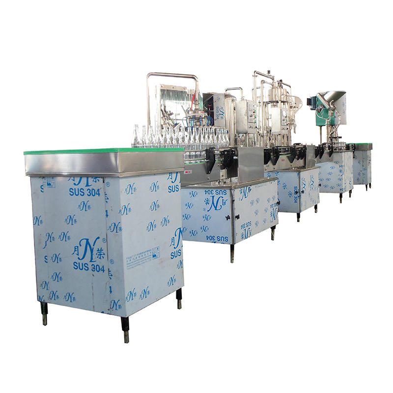 JNDWATER 1000-2000BPH bottled production line