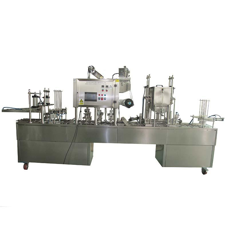 JNDWATER Plastic Cup Filling and Sealing Machine