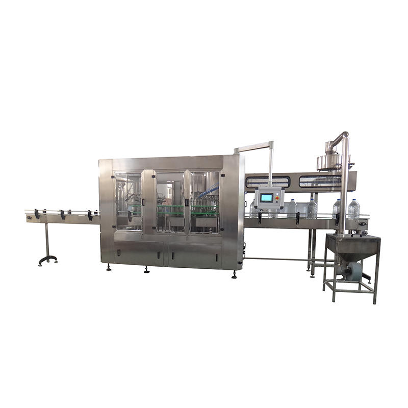 JNDWATER 3-10 L Bottle Washing&Filling&Capping Machine