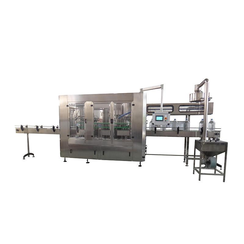 JNDWATER 3-10 L Bottle Washing&Filling&Capping Machine