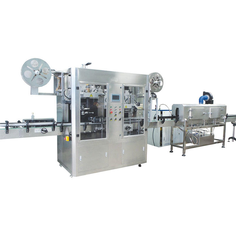 JNDWATER Double head Plastic Bottle Shrink Labeling Machine