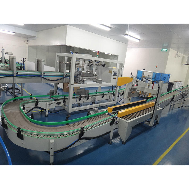 JNDWATER Automatic Carton Erecting & Carting & Sealing Machine
